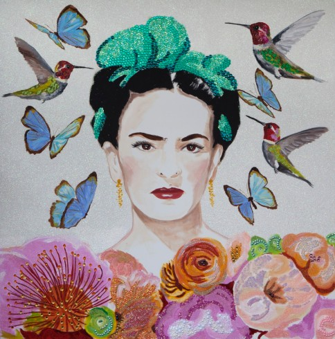 Frida-With-Succulents-and-Butterflies-and-Hummingbirds-email-IMG_0138-1010x1024